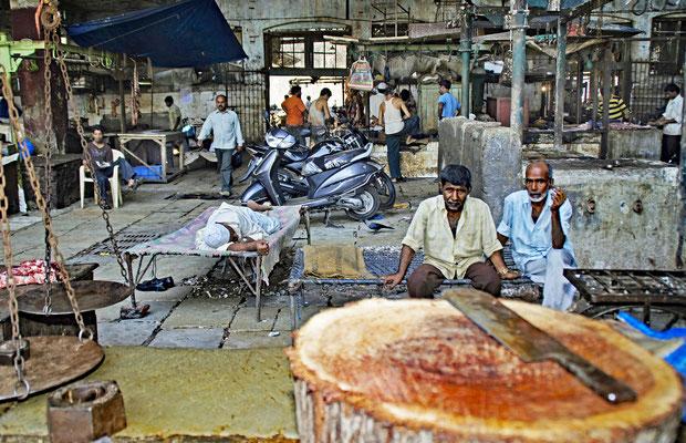 Markthalle von Mumbai