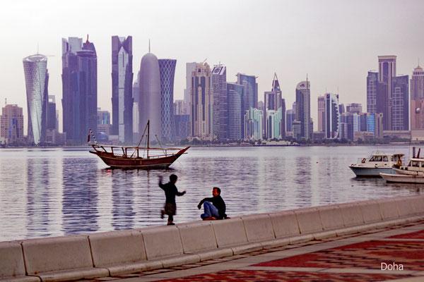 Blick auf Doha (Kartar)