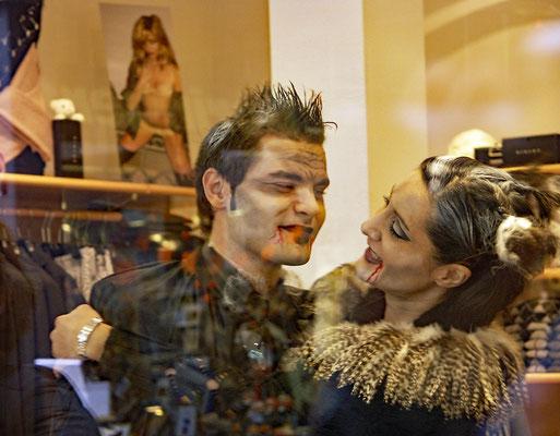 Halloween in der Oberurseler Fussgängerzone