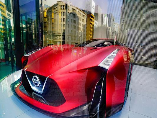 Designstudie eines Nissan-Sportwages