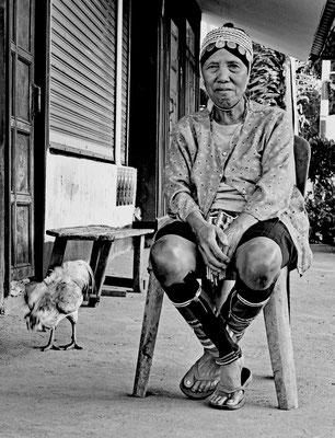 Bäuerin in Thailand