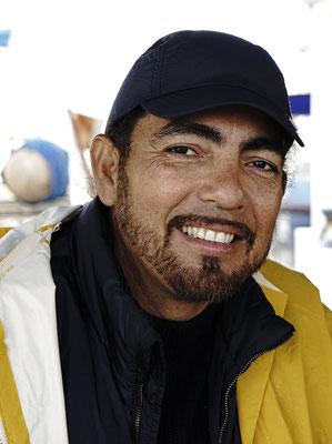 Ein Bootsmann aus Honduras, Oscar Guevara