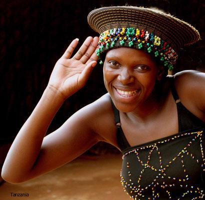 Schauspielerin in Tansania