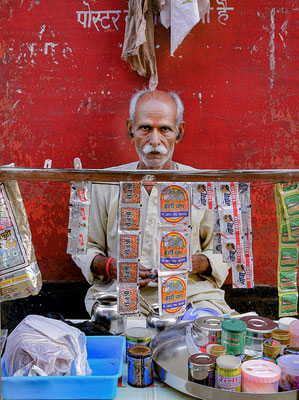 Mumbai  Straßenhändler