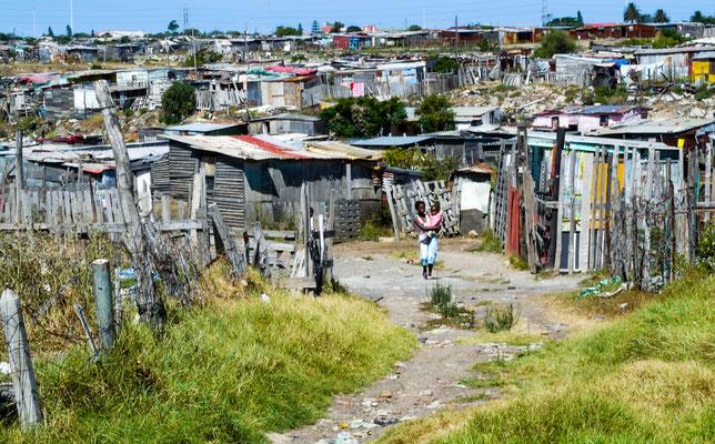 Township bei Kapstadt