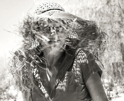 Birgitt in Afrika