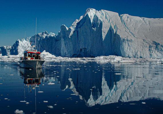 Grönland Ilulissat -Eisford