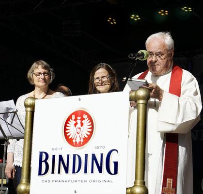 Gottesdienst zur Eröffnung des Brunnenfestes