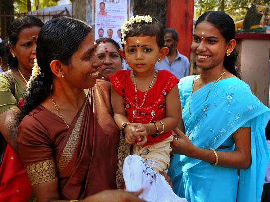 Cochin  Hochzeitsgäste