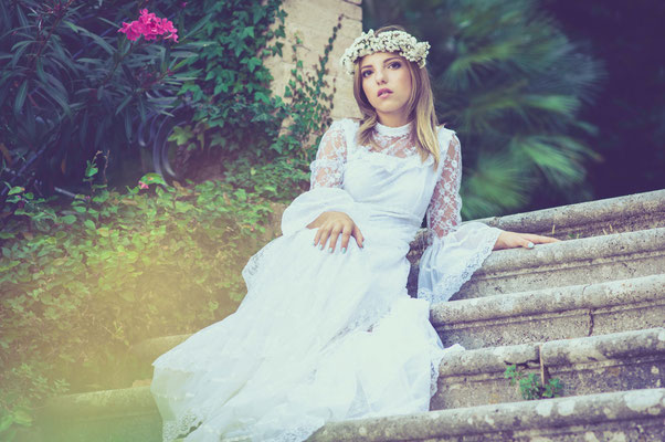 romance portrait - the secret garden
