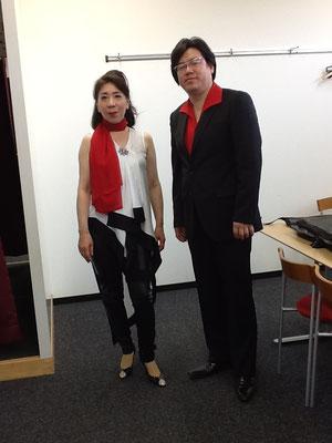 中川賢一さんと。