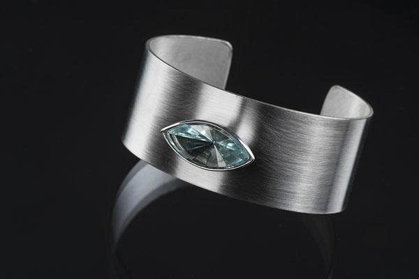 Produktnummer 2169 - 925/- Silber, Aquamarin