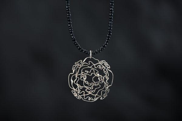 Produktnummer 8731 - 925/- Silber, Spinelle