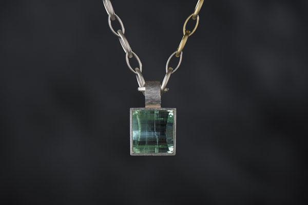 Produktnummer 2919 - 925/- Silber,  Aquamarin