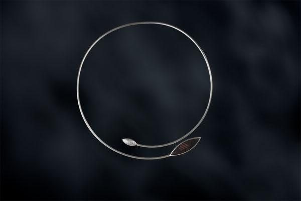 Produktnummer 9476 - 925/- Silber, Ebenholz