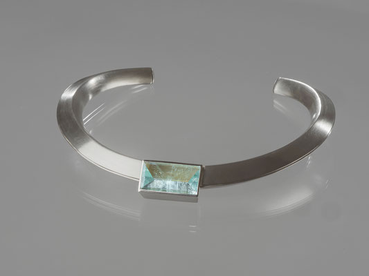 Produktnummer 2075 - 925/- Silber, Aquamarin