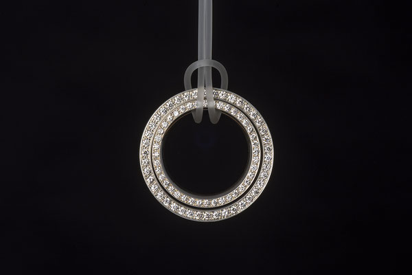 Produktnummer 2589 - 925/- Silber, Brillanten