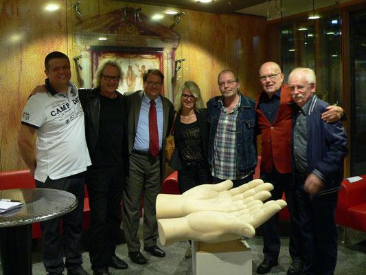 Walter Valentin,MM,Helmut Vogel,Claudia Krämer,Klein Jürgen,Dieter Fricke u. Erwin Scharth