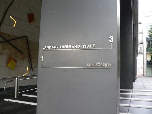 Landtag Rheinland-Pfalz Mainz