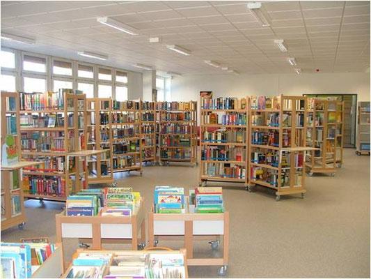 Bibliothek Sprendlingen Innenansicht 1
