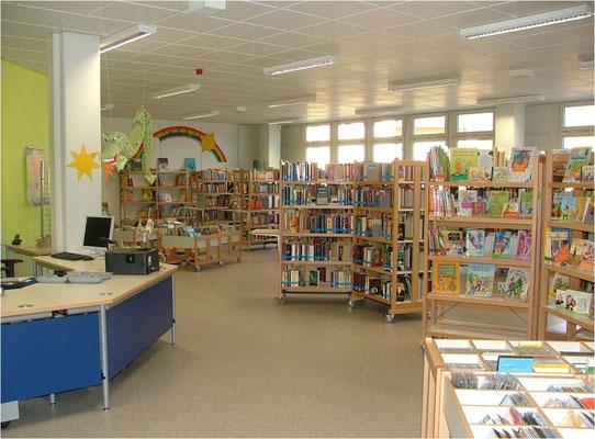Bibliothek Sprendlingen Thekenbereich