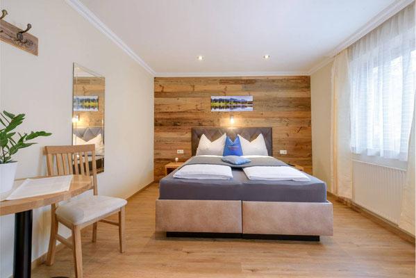Schlafzimmer Typ Familienapartment + Typ A - Vergissmeinnnicht Flachau