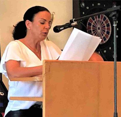 Bericht des Präsidiums durch Vizepräsidentin Andrea Bernhardt-Meier