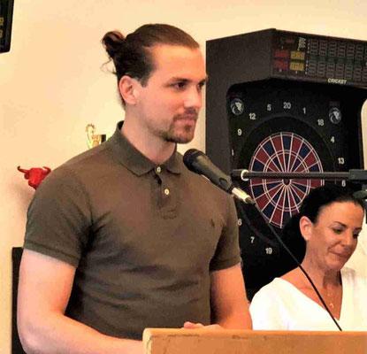 Abschiedsworte an den Trainer von Kapitän Steven Kröner