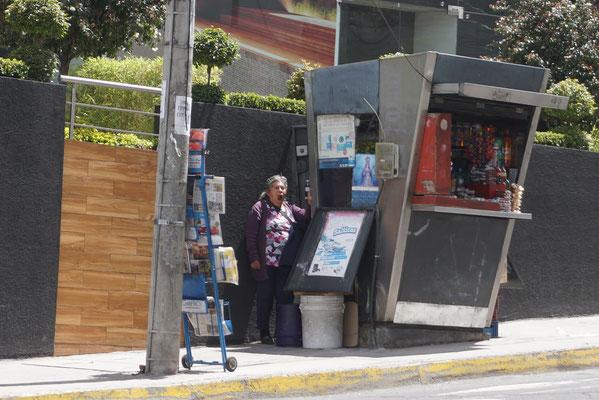 Ecuadorianischer Kiosk