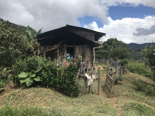 Typisches Indianerhaus