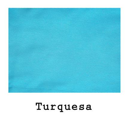 loneta algodón Turquesa