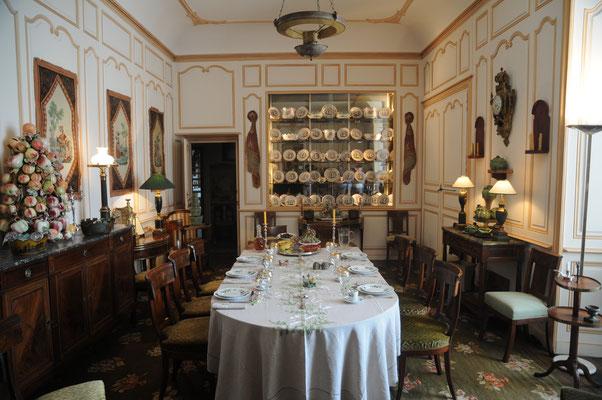 Château de Boussac : salle à manger