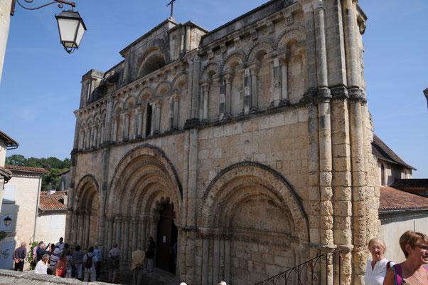 Aubeterre : l'église Saint-Jacques