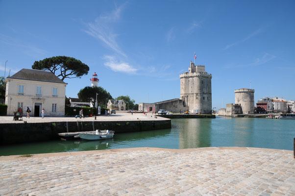La Rochelle : bassin du vieux port