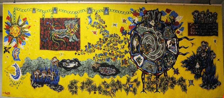 Aubusson : musée de la tapisserie, tapisserie de Jean Lurçat