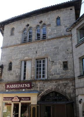 Saint-Léonard-de-Noblat : la maison du Massepain