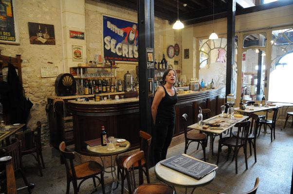 Rochefort : le musée des Commerces d'Autrefois (le bar )