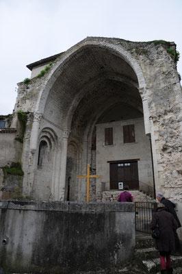Abbaye de Saint-Maurin : vestiges de la nef Sud
