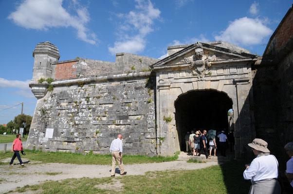 Brouage : porte royale, entrée de la citadelle