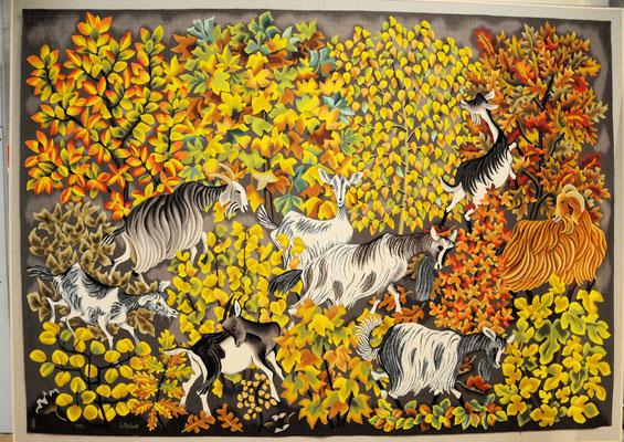 Aubusson : musée de la tapisserie, tapisserie de Dom Robert
