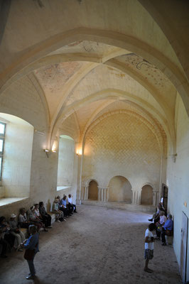 Abbaye de Trizay : réfectoire