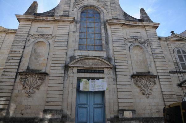 La Rochelle : le temple du culte réformé