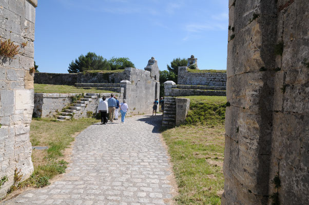 L'Île d'Aix : le fort de la rade