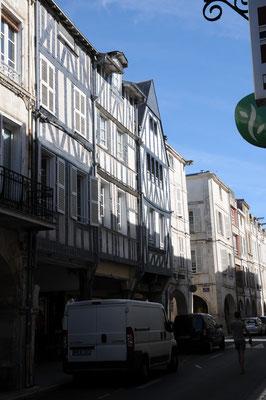 La Rochelle : une maison à pans de bois