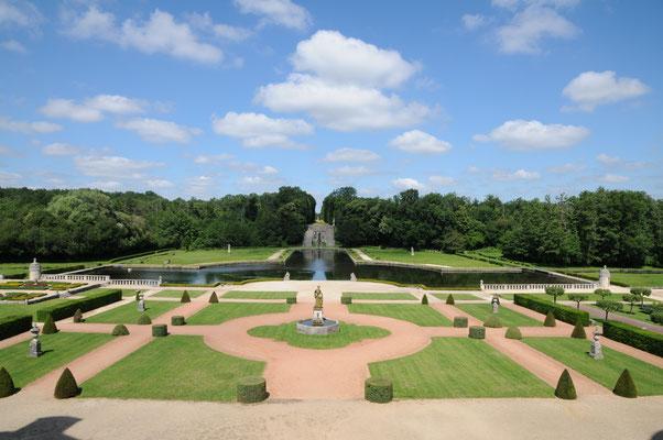 La Roche-Courbon : les jardins