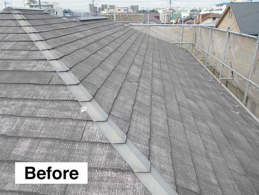 屋根のリフォーム・施工前