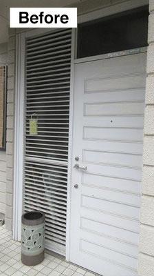 玄関ドア交換・施工前