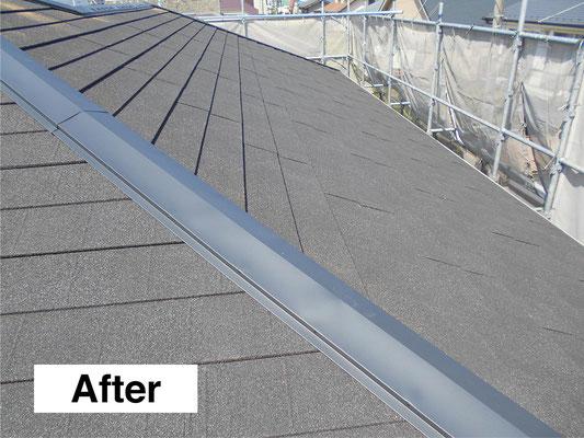 屋根のリフォーム・施工後