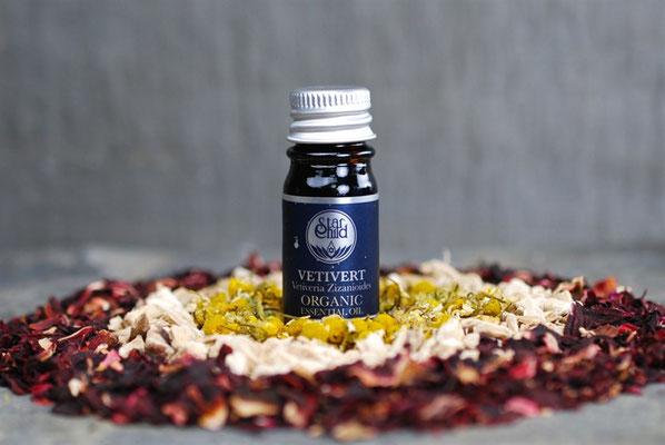 Veteveria zizanoides (Vetiver Organic) 5ml CHF 21.00