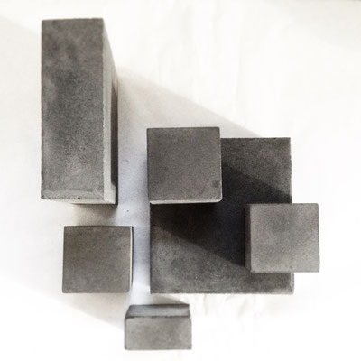 Custom Concrete Cube Jewellery Display